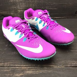 Nike Rival S Zoom Purple Track Field Sprint Size 8